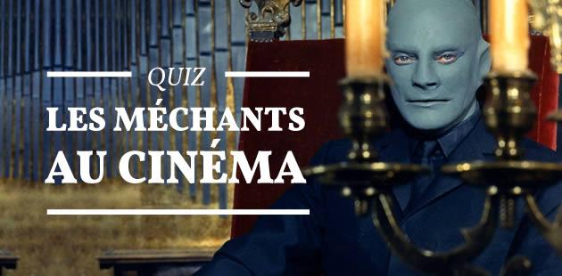 Quiz – Les méchants au cinéma