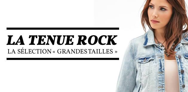La tenue rock — La sélection «grandes tailles»
