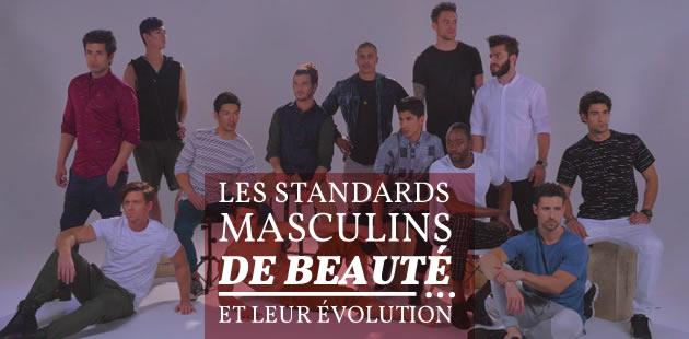 Les standards masculins de beauté et leur évolution