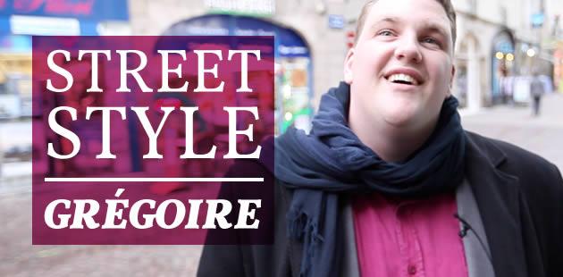 Street Style de mec avec Grégoire et ses fringues « grandes tailles »
