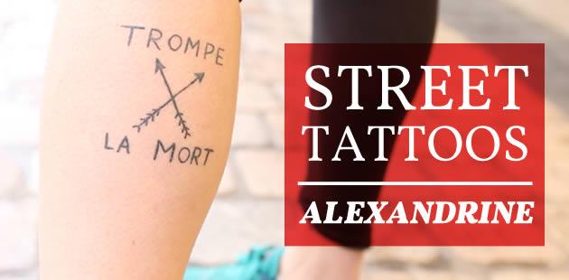 Street Tattoos – Alexandrine et ses petits avions