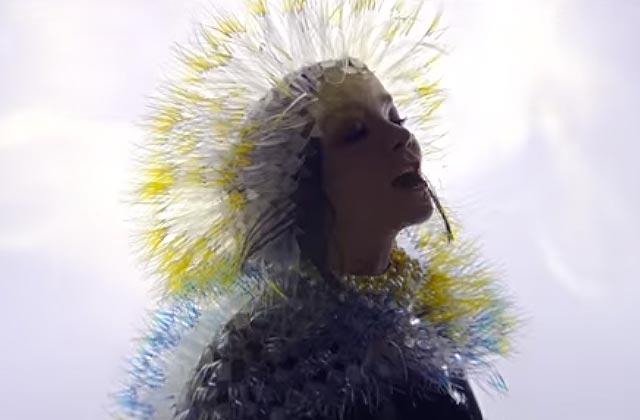 «Lionsong», le premier clip du nouvel album de Björk, est sorti