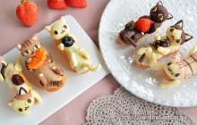 Les gâteaux-chats, les gourmandises les plus mignonnes du monde