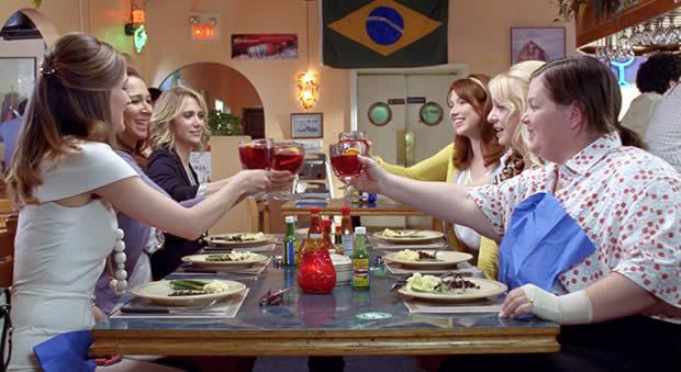bridesmaids repas alcool