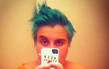 Les cheveux verts… et moi