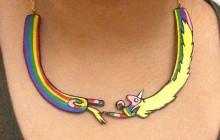 Les colliers Adventure Time de Doppledew sur Etsy