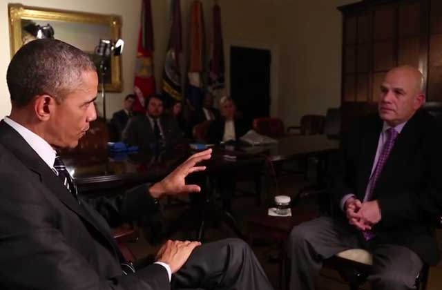Barack Obama interviewe David Simon, le créateur de « The Wire »