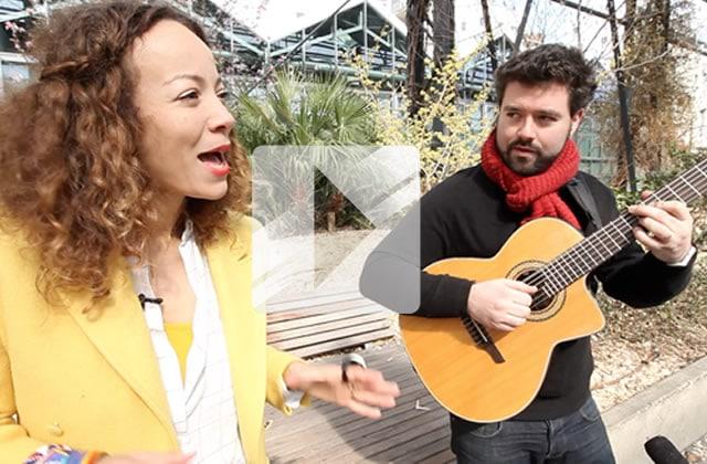 Élodie Rama reprend « No Diggity » en acoustique