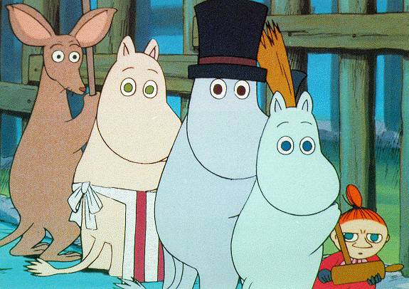 famille moomins