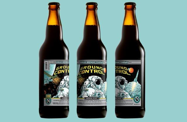 « Ground Control », la bière venue de l'espace, bientôt en vente