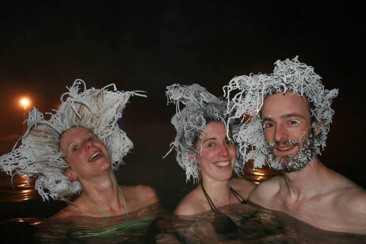 « Hair Freezing Contest », le concours de cheveux… gelés