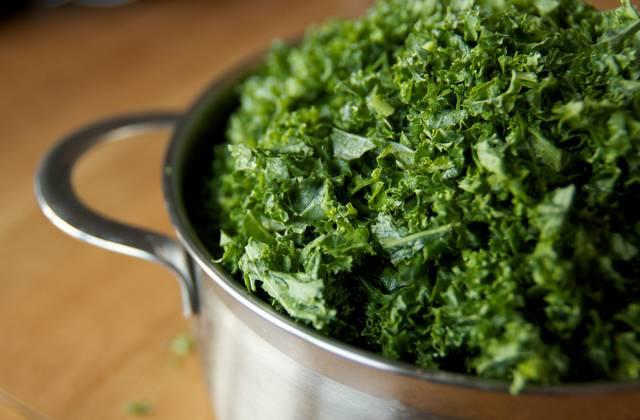 Le kale, un chou frisé qui a la cote