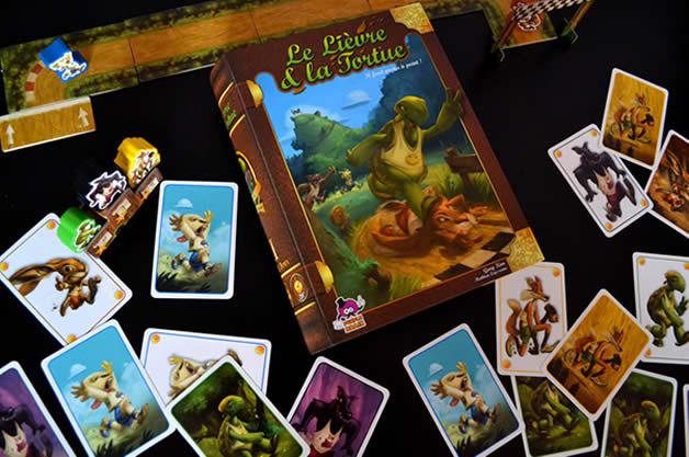« Le Lièvre et la Tortue », un jeu de société rapide et malin