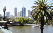 Melbourne (et les petits pingouins) — Carte postale d'Australie