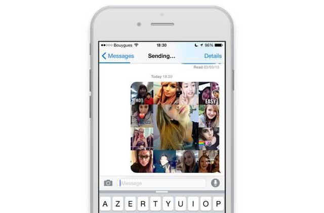 Pleek!, la nouvelle application photo qui buzze