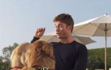 Scott Eastwood choisit son meilleur pote chien sur Funny or Die