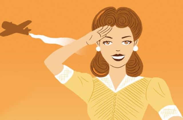 Les tendances coiffure du XXème siècle s'enchaînent dans une jolie animation