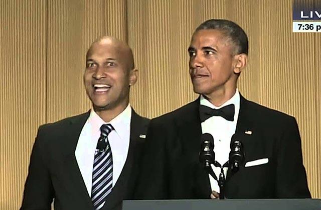 Barack Obama et son «traducteur de colère» font un discours énervé mais drôle