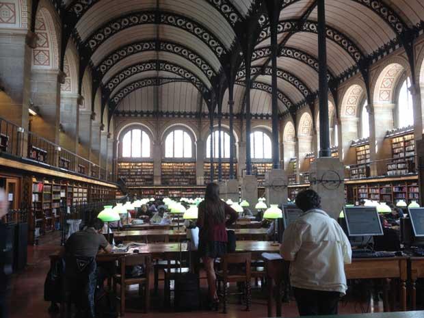 bibliotheque sainte genevieve