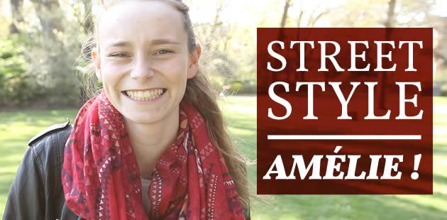 Street Style — Amélie, pleine de bonne humeur, et son accent chantant façon Maïté