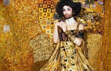 Conchita Wurst recrée une oeuvre de Klimt pour le Life Ball 2015
