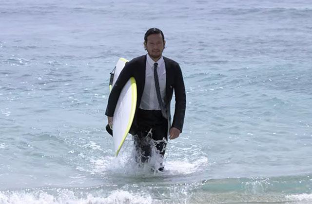 Le costume de bain trois-pièces, pour se baigner comme James Bond