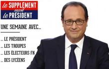 François Hollande fait son bilan des 3 ans face aux Français dans Le Supplément