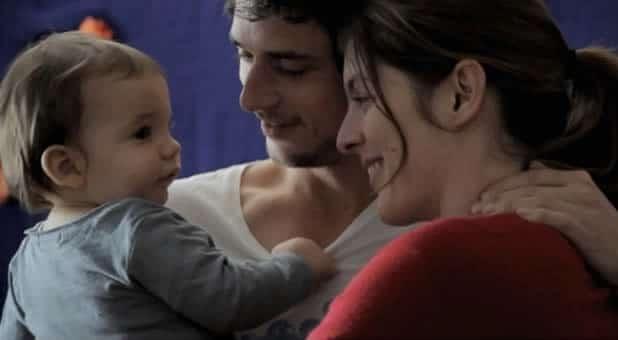 la guerre est déclarée famille bébé malade