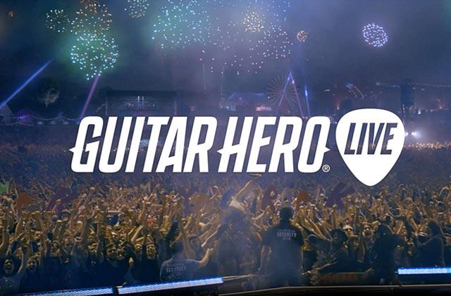 « Guitar Hero Live», la suite du jeu vidéo face à de vrais spectateurs