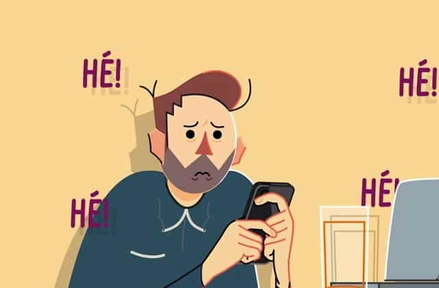 « Hé ! », l'application qui recrée le harcèlement de rue sur smartphone