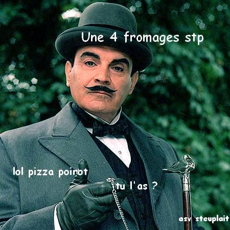 hercule poirot pizza
