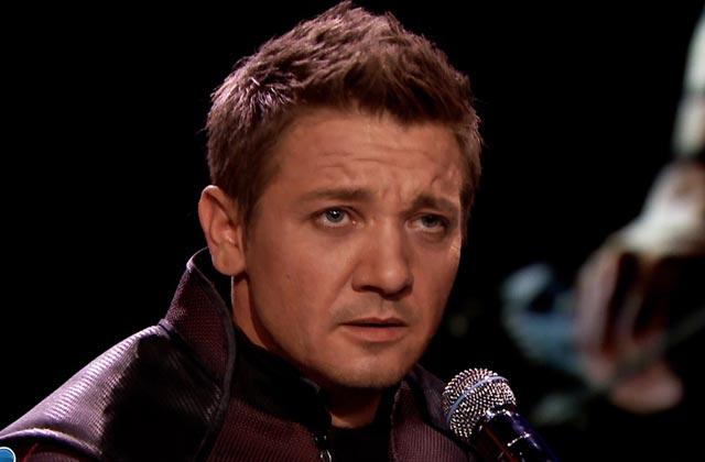 Jeremy Renner, alias Hawkeye des «Avengers», parodie Ed Sheeran