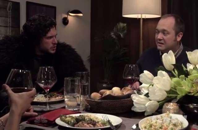 Si Jon Snow était invité à un dîner entre amis…
