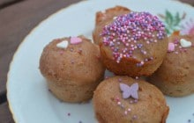 Mini-muffins à la purée de marrons — Recette pour le goûter