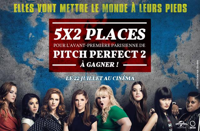 Concours — 5×2 places pour l'avant-première parisienne de Pitch Perfect 2 le 28 avril