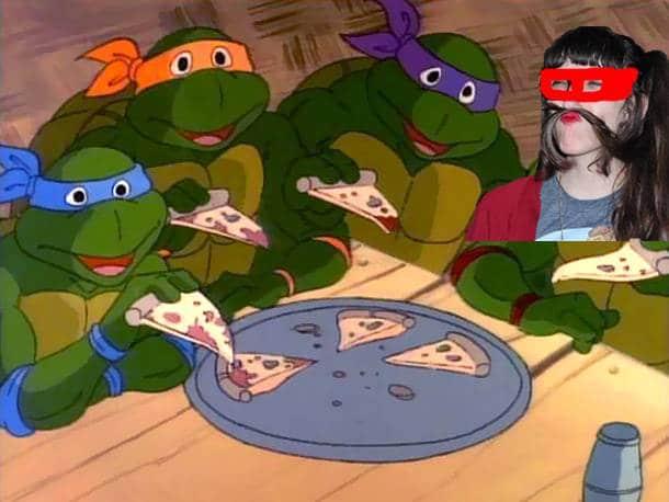 pizza tortues ninja margaux raphal