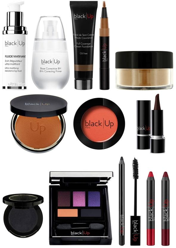 liste de produit de maquillage