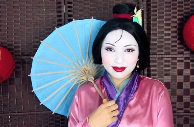 Promise Phan se transforme en personnages des films Disney sur Youtube