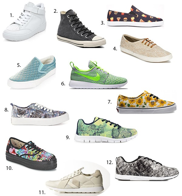 81fd4266dc072f Shopping mode — Sélection de sneakers pour le printemps 2015