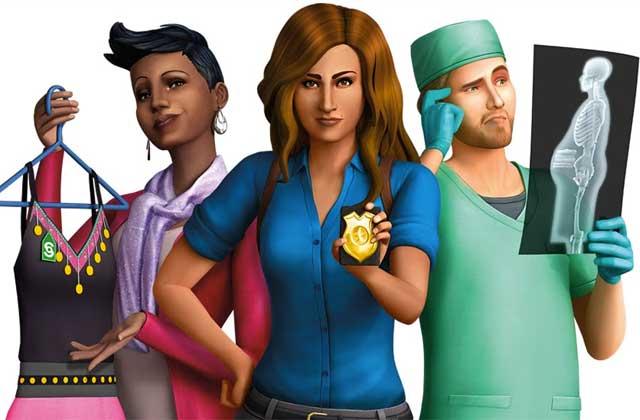 Les Sims 4 «Au travail», la première extension, est sortie !