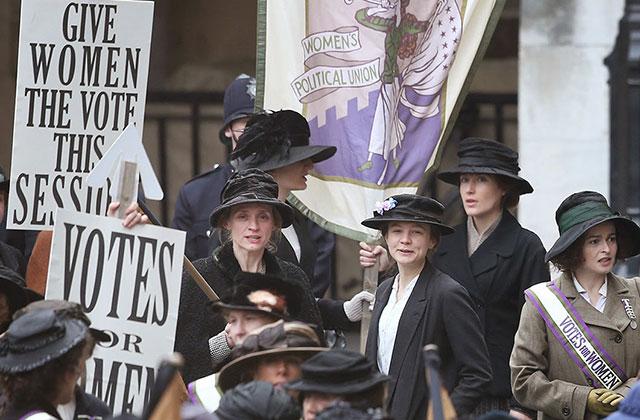 Le film « Suffragette » a de nouvelles affiches fort chouettes