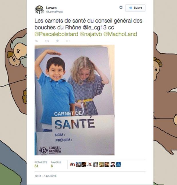 tweet-carnet-sante-sexiste