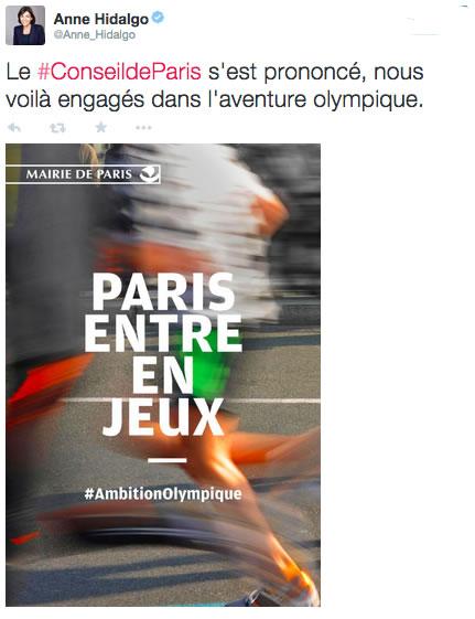 tweet-hidalgo-paris-candidate-jo2024