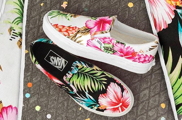 Van's dévoile sa collection Hawaiian Floral pour le printemps 2015