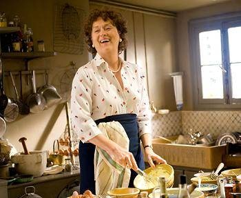 "Meryl Streep as ""Julia Child"""