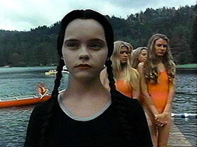 wednesday addams lake