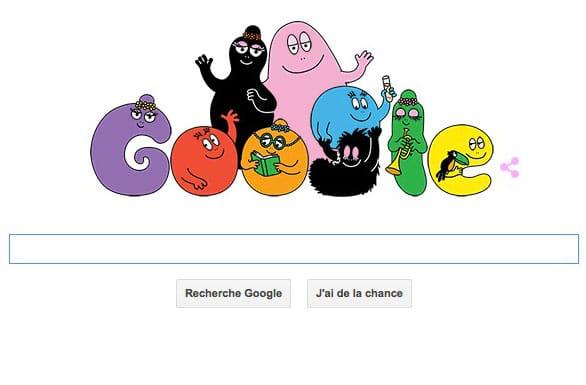 Les Barbapapa sont à l'honneur sur Google pour les 45 ans de la série