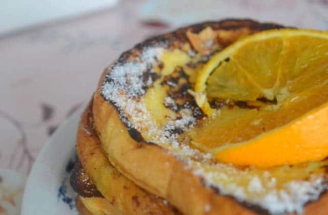 Brioche à l'orange façon pain perdu — Recette rapide et gourmande