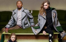 Cara Delevingne et Pharrell Williams posent ensemble pour Chanel