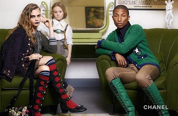chanel-cara-delevingne-pharell-assis